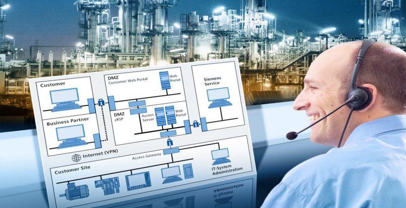 سامانه کنترل و مدیریت خطوط تولید و دستگاه های صنعتی